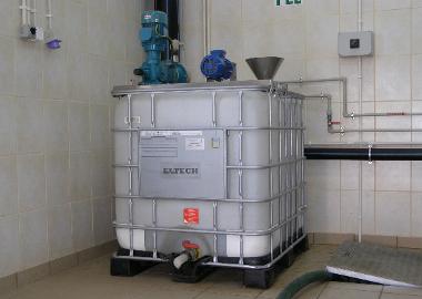 Stacja przygotowania i dozowania polielektrolitu
